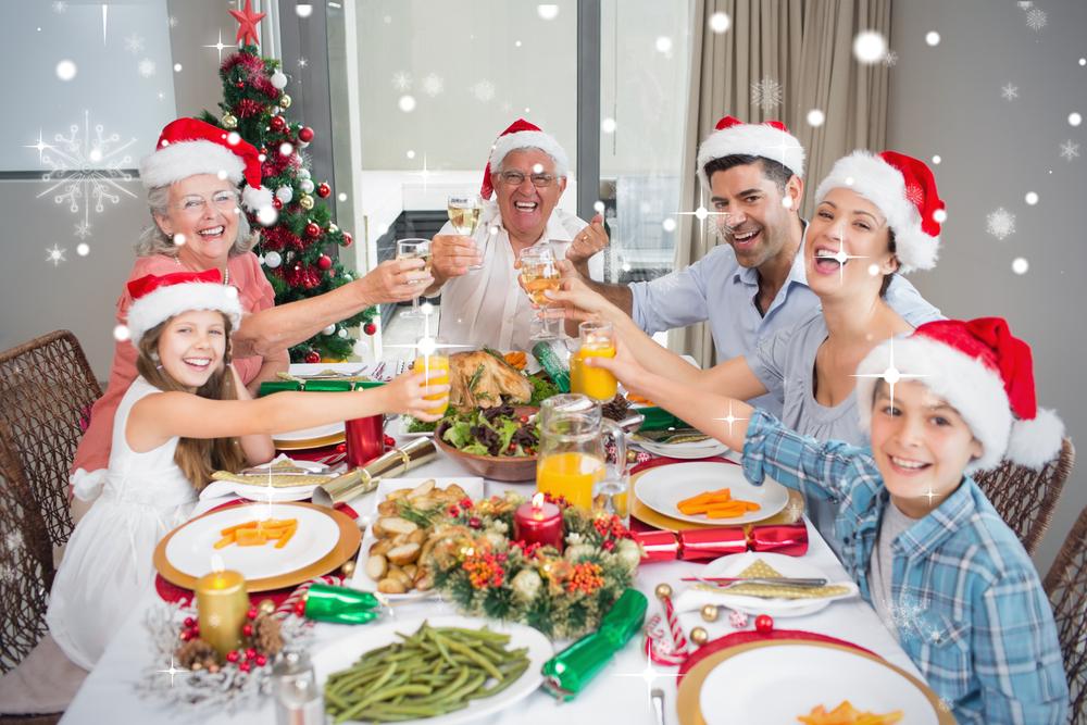 cena nochebuena familia
