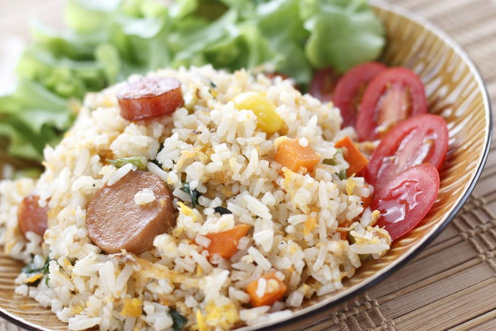 receta arroz salchichas 2