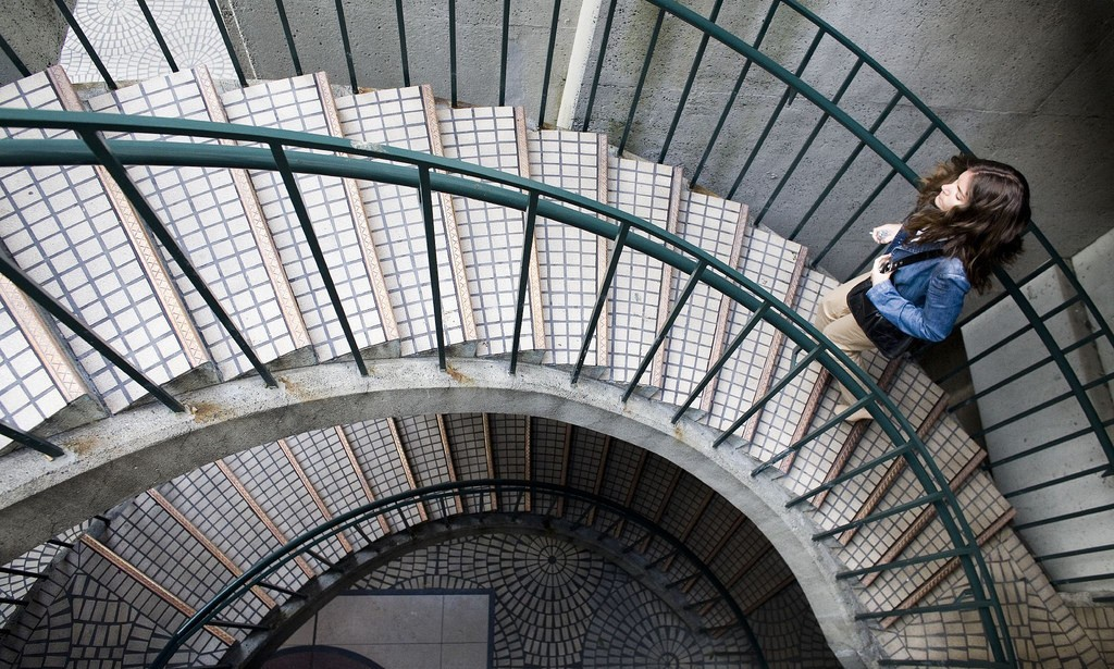 Subir las escaleras vida sana
