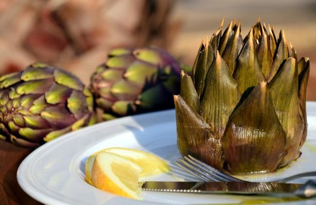 las alcachofas un alimento muy rico