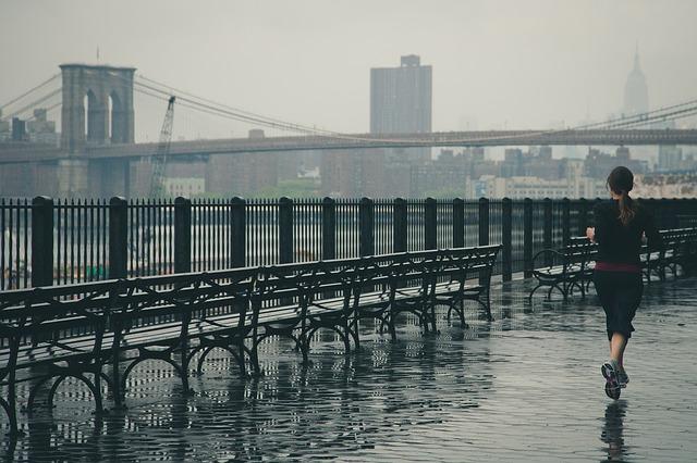 entrenar con lluvia